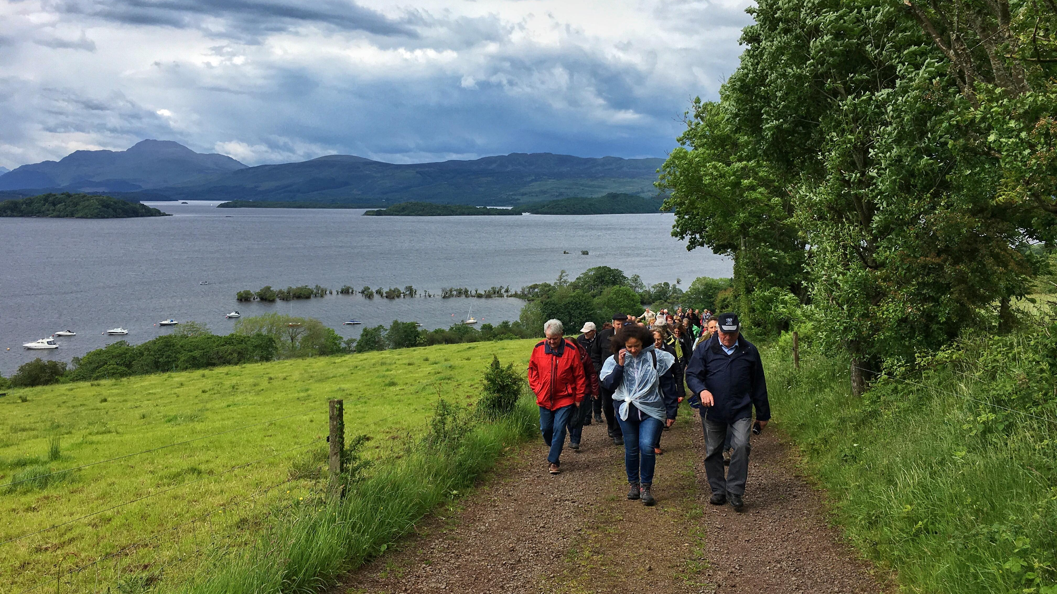 Portnellan Organic Farm Tour Scotland